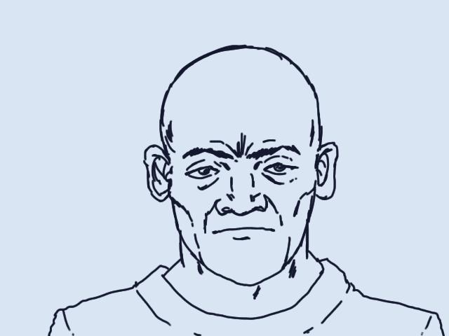 老人アニメ